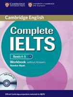 Complete IELTS Bands 4 5 Workbook Without Answers with Audio CD PDF