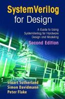 SystemVerilog for Design Second Edition PDF