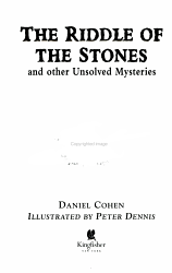 The Riddle Of The Stones Book PDF