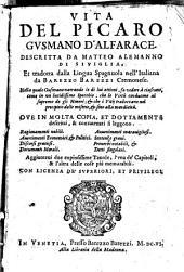 Vita del picaro Gvsmano d'Alfarace
