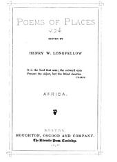 Poems of Places: Africa