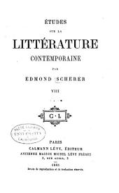 Études sur la littérature contemporaine: Volume8