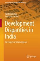 Development Disparities in India PDF