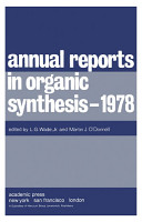 Annual Reports in Organic Synthesis     1978 PDF