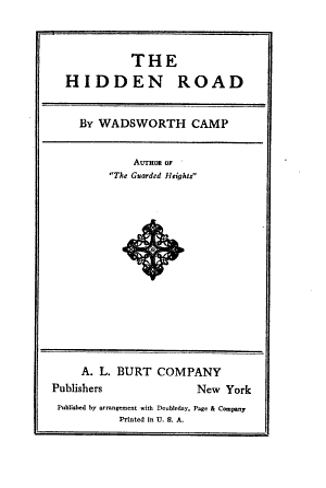 The Hidden Road