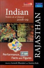 Indian States At A Glance 2008-09: Performance, Facts And Figures - Rajasthan