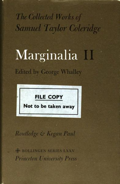 Download Marginalia  Camden to Hutton Book