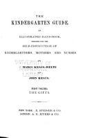 The Kindergarten Guide PDF