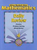 Mathematics Daily Review  Grade 4 PDF