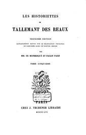 Les historiettes de Tallemant des Réaux: Volume5