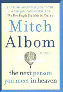 The Next Person You Meet in Heaven   Target Exclusive Edition Book