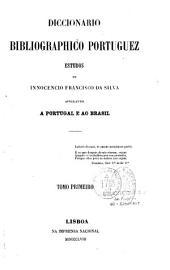 Diccionario bibliographico portuguez