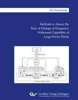 Methods to Assess the Rate of Change of Frequency Withstand Capability of Large Power Plants PDF