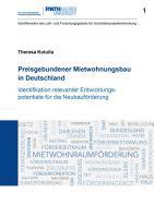 Preisgebundener Mietwohnungsbau in Deutschland PDF