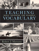 Teaching Basic  Advanced  and Academic Vocabulary PDF