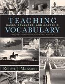 Teaching Basic  Advanced  and Academic Vocabulary PDF