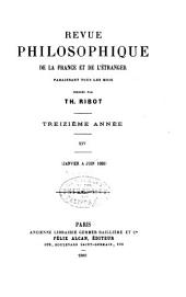 Revue philosophique de la France et de l'étranger: Volume25