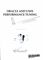 Oracle and UNIX Performance Tuning