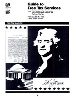 A Selection of     Internal Revenue Service Tax Information Publications PDF