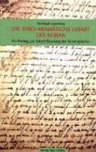 Die syro aram  ische Lesart des Koran PDF
