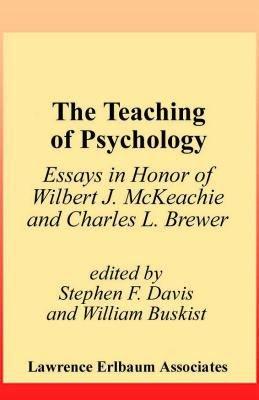 The Teaching of Psychology PDF
