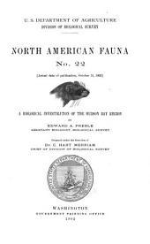 North American Fauna: Issue 22