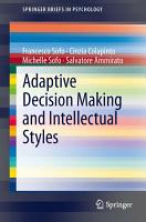 Adaptive Decision Making and Intellectual Styles PDF