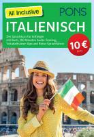 PONS All Inclusive Italienisch  Sprachkurs f  r Anf  nger mit Buch PDF