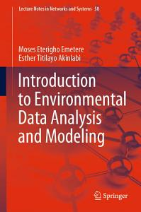 Introduction to Environmental Data Analysis and Modeling