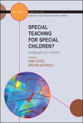 Special Teaching for Special Children  Pedagogies for Inclusion PDF