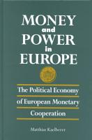 Money and Power in Europe PDF
