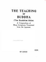 The Teaching of Buddha  the Buddhist Bible  PDF