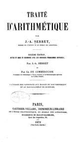 Traité d'arithmétique