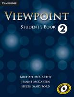 Viewpoint Level 2 Student s Book PDF