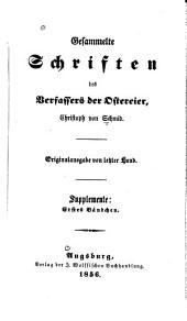 Gesammelte Schriften des Verfassers der Ostereier: Bände 19-20