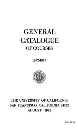 UCSF General Catalog PDF