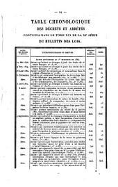 Bulletin des lois de la République Française: Volume19