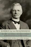 A Voice in the Wilderness PDF