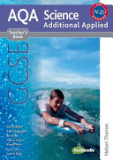 New Aqa Science Gcse Additional Applied Science Teacher s Book PDF