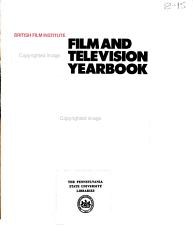 Film and Television Yearbook PDF
