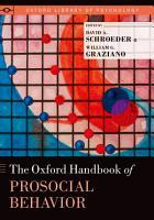 The Oxford Handbook of Prosocial Behavior PDF