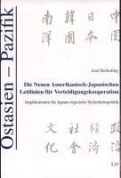 Die neuen amerikanisch japanischen Leitlinien f  r Verteidigungskooperation PDF