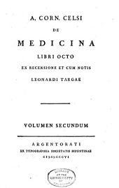 A. Corn. Celsi de medicina: libri octo, Volume 2