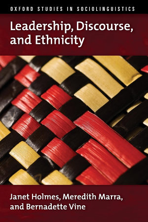 Leadership  Discourse  and Ethnicity
