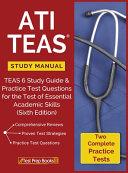 ATI TEAS Study Manual Book