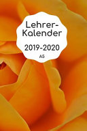 Lehrerkalender 2019 2020 A5 PDF