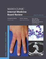 Mayo Clinic Internal Medicine Board Review PDF
