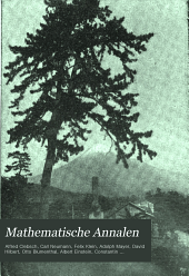 Mathematische Annalen: Volume 62