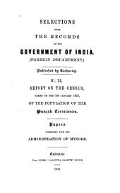Selections from the Records of the Government of India, Foreign Department: Issue 11