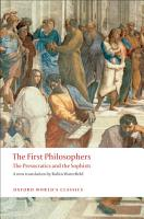 The First Philosophers PDF